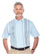 Diamond Printed Polo Shirt