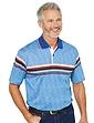 Woodville Polo Chest Stripe Design