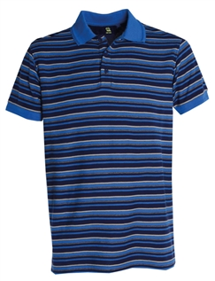Old Salt Blue Striped Polo