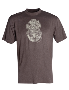 Old Salt Brown Printed T-Shirt