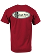 Old Guys Rule Comp Stripe Oval T Shirt