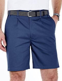 Stain and Water Resistant Easy Care High Rise Shorts