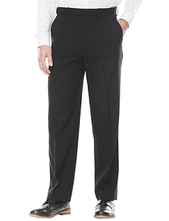 Wool Touch Formal Trouser With Hidden Stretch