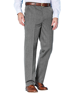The Fitting Room Wool Blend Trouser