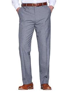 The Fitting Room Poly Viscose Formal Trouser with Stretch