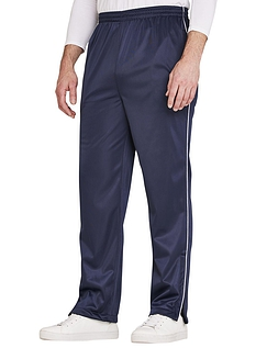 Pegasus Tricot Knitted Track Pant With Zip Hem And Pocket