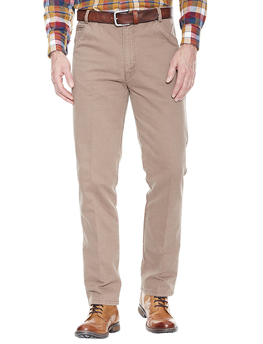 Platinum Collection Fine Rib Chino with Expandable Waist
