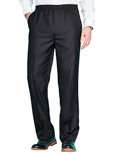 Pack of 2 Elasticated Waist Pull On Trousers