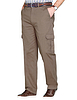 Stretch Cargo Trouser With Hidden Stretch Waistband