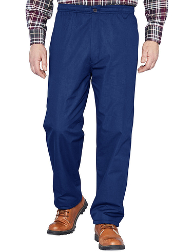 Fleece Lined Pull On Drawcord Trouser