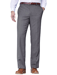 Farah Stretch Waistband Trouser - Grey