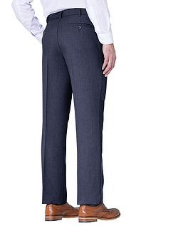 Farah Stretch Waistband Trouser - Navy