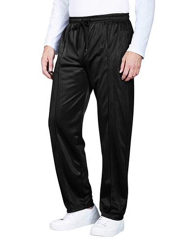 Easy Pull On Track Pant With Full Elastication