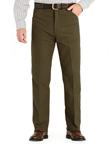 Soft Touch Cotton Moleskin Trouser