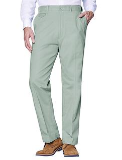 Cotton Chino Trouser - Mint