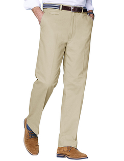 Cotton Chino Trouser - Sand