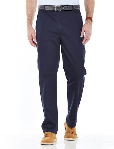 Stain Resistant Cotton Trouser