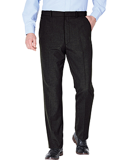 Teflon Coated Regular Rise Smart Trouser