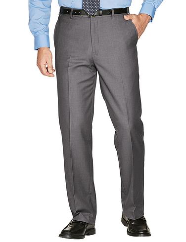 Stretch Woolblend Trouser