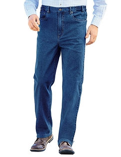 Mens Pegasus Side Elasticated Jean