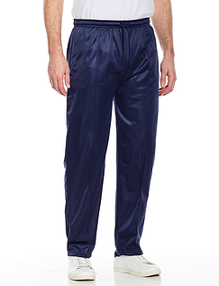 Easy Pull On Track Pant With Full Elastication - Navy