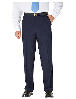 Teflon Coated High  Rise Smart Trouser