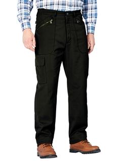 Fleece Lined High Waist Action Trouser