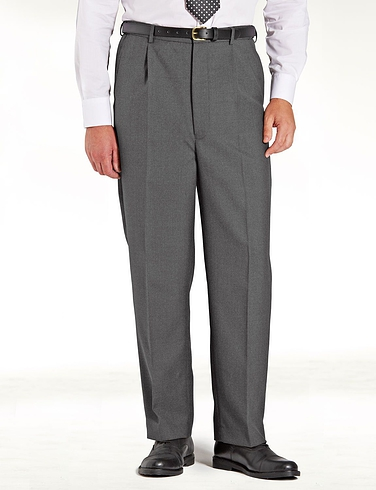 High Waisted Woolblend Trouser