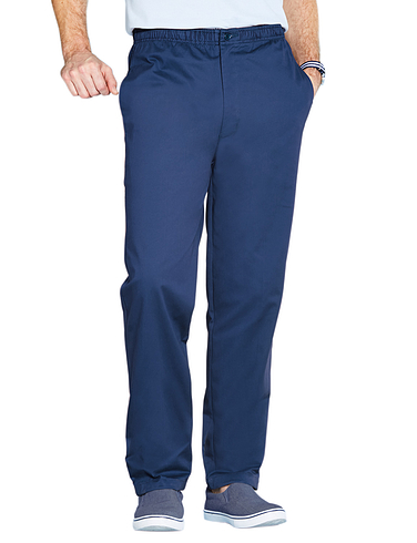 High Rise Pull On Trouser