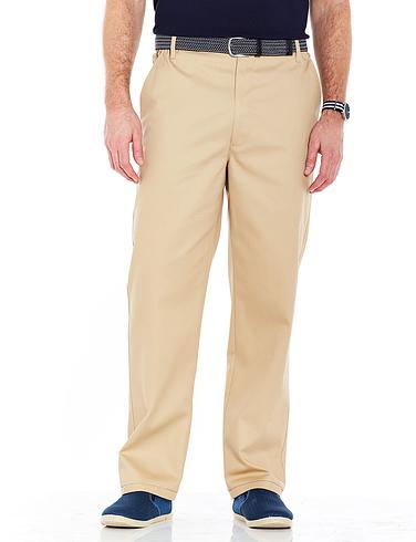 Teflon Coated High Rise Trouser