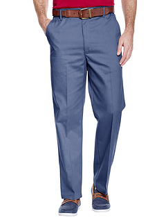 Stain Resistant High Rise Trouser - Airforce