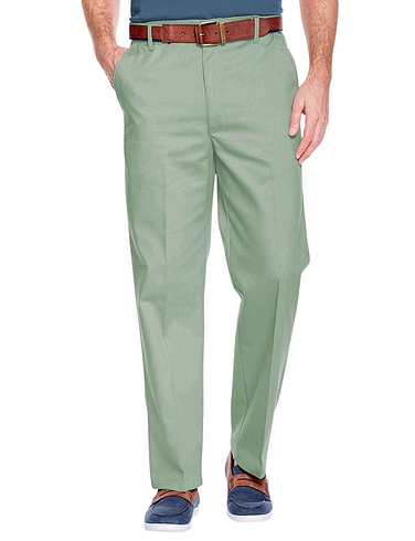 Stain Resistant High Rise Trousers