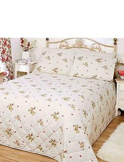 Wild Rose Throwover Bedspread  By Belledorm