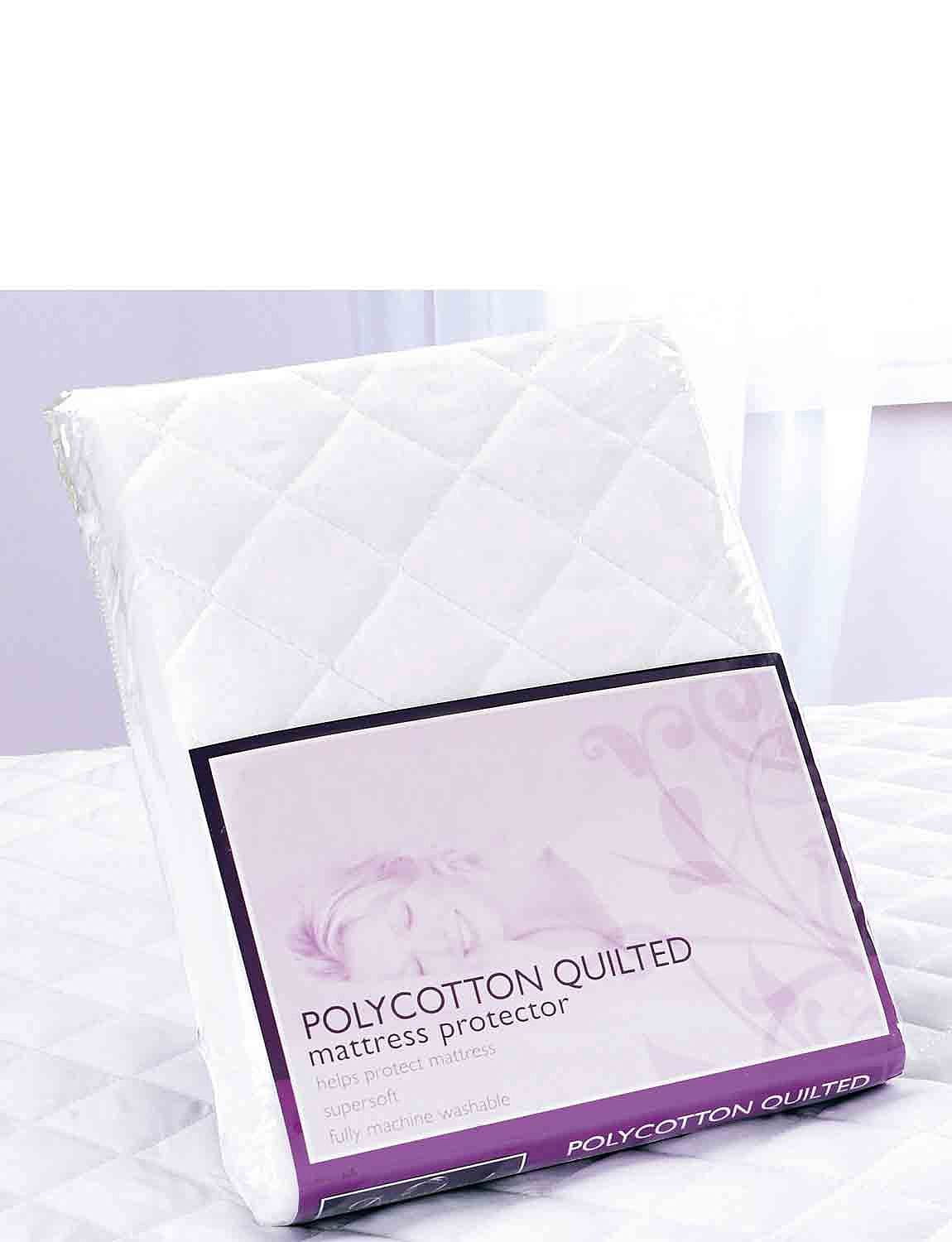 Quilted Mattress Protector - One