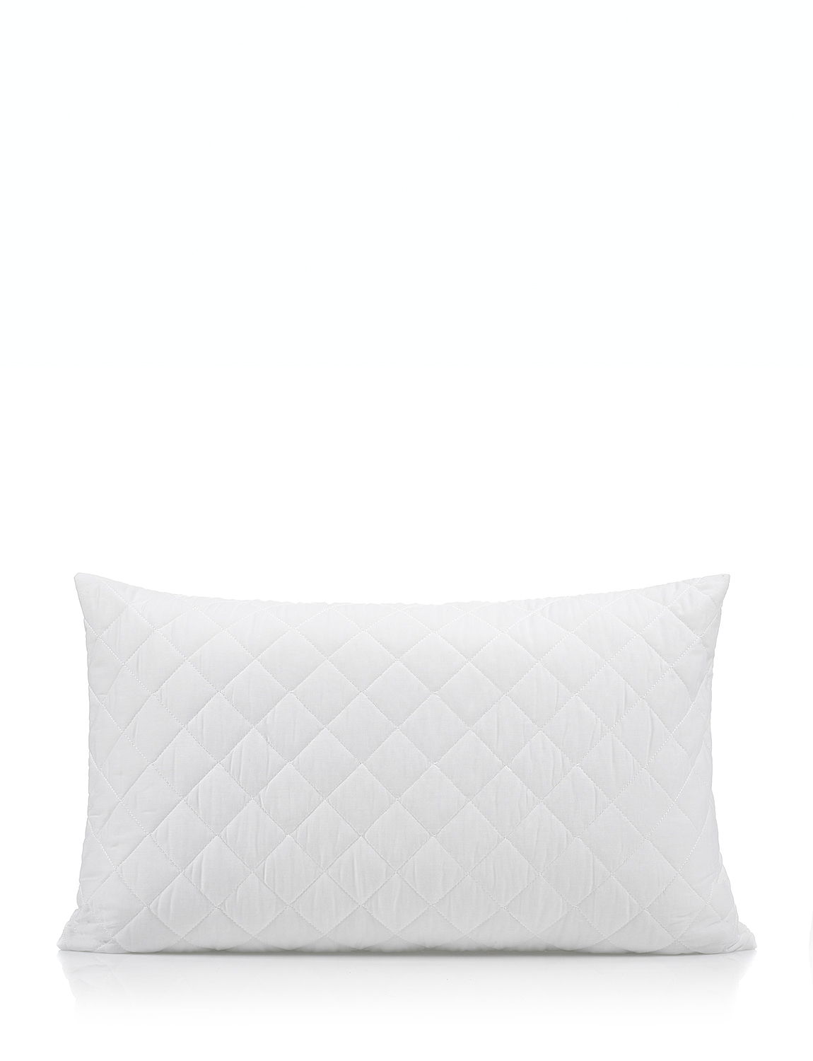 Quilted Pillow Protectors - White