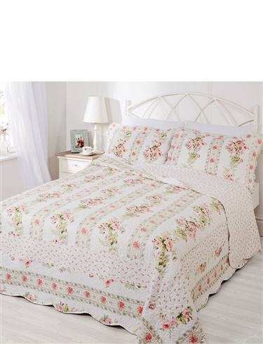 JULIETTE QUILTED BEDSPREAD SET