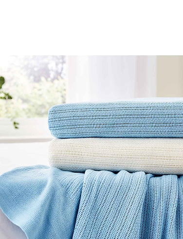 Supersoft Cotton Cellular Blanket
