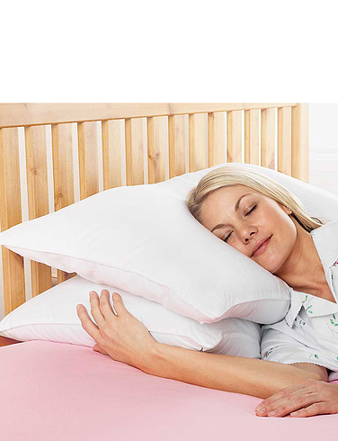 Downland Pack of Two Super Bounce Pillows