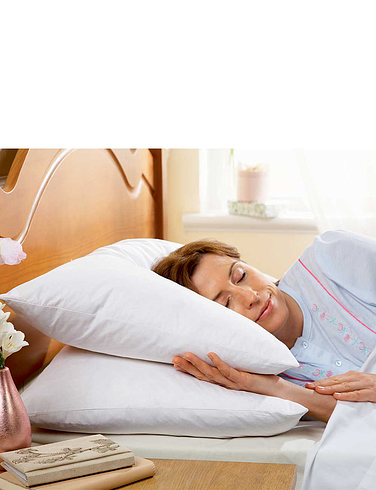 Goose Feather Pillow Pair By Silentnight