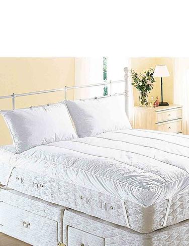 Lumbar Support Duck Feather Pillow