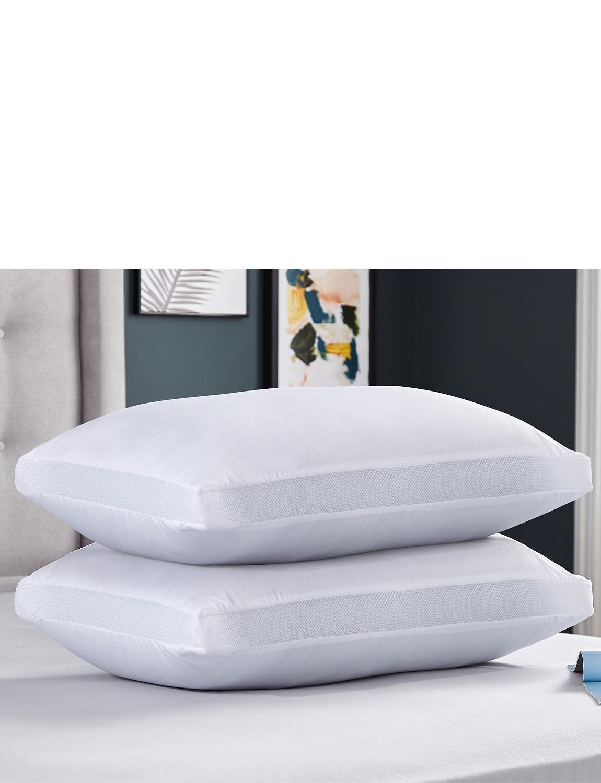 Airflow Breath Easy Orthopaedic Pillow - White