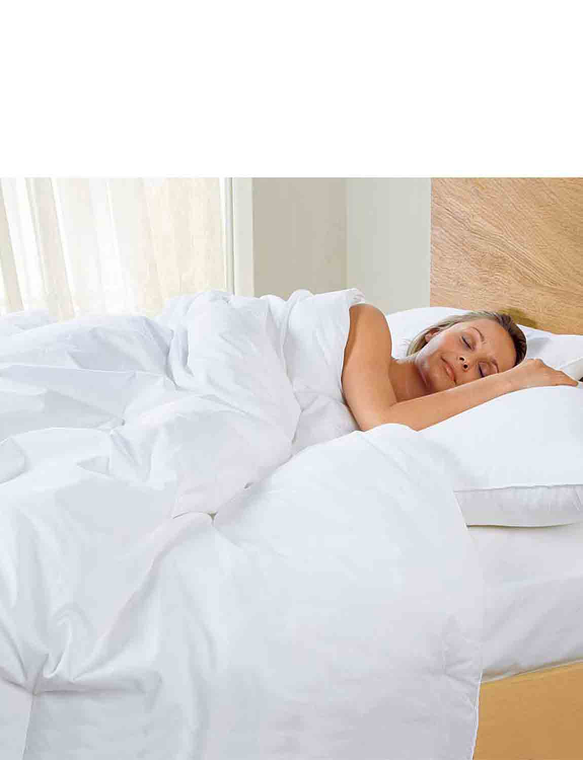Thermal Control Pillow by Downland - White