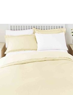 Superfine 200 Count Percale Poly/Cotton Fitted Valance Sheet by Belledorm