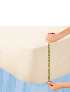 Extra Deep Poly/Cotton Percale Fitted Sheets