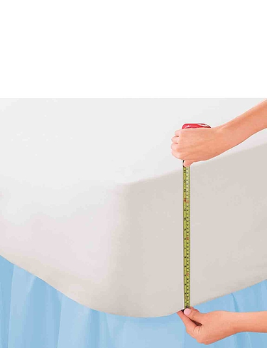Extra Deep Polycotton Percale Fitted Sheets