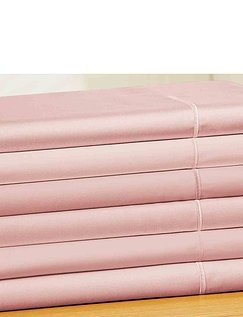 12 Inch 400 Thread Count Egyption Cotton Sateen Fitted Sheet