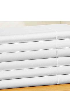 400 Thread Count Egyption Cotton Sateen Flat Sheet