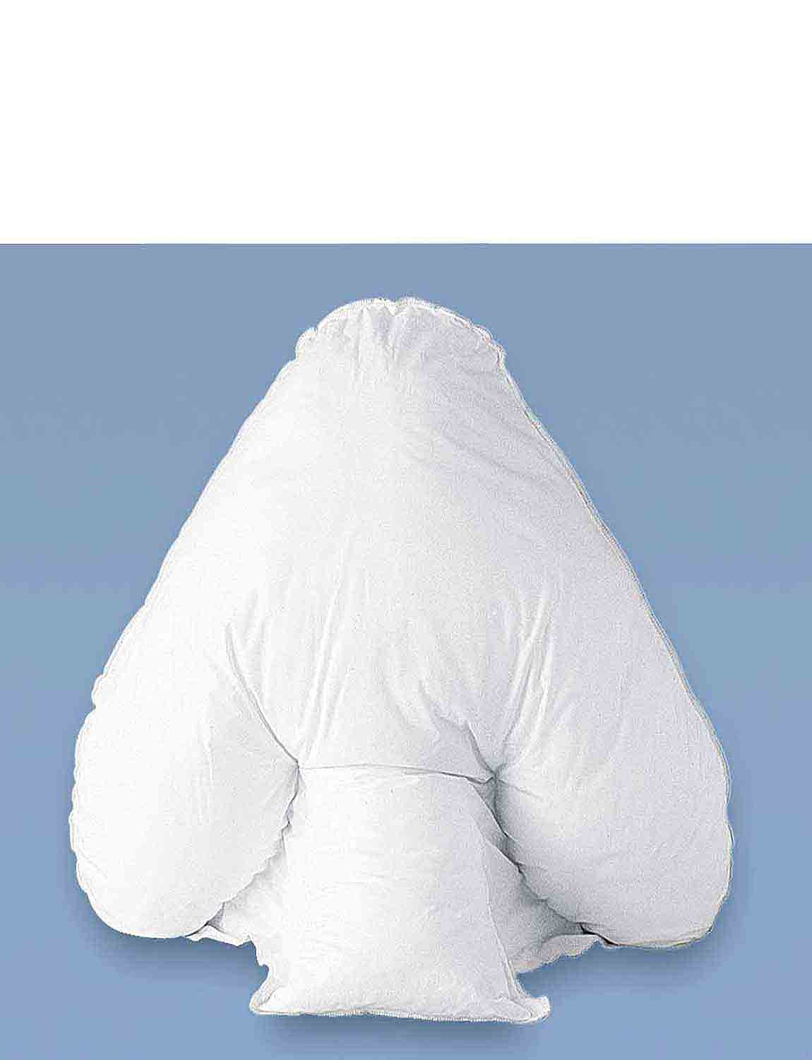 Batwing Support Pillow - White