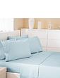 300 Thread Count Cotton Rich Bed-Linen Flat Sheet By Belledorm