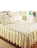 Cottage Garden Quilted Bedspread by Vantona